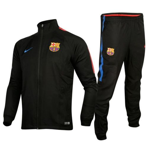 CHANDAL BARÇA ADULTO  NEGRO TEMP.2017-18