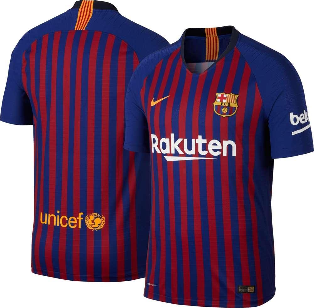 19 Hombre Camiseta Grana Barça Nike Temp Oficial Blau 2018 08XPknwO